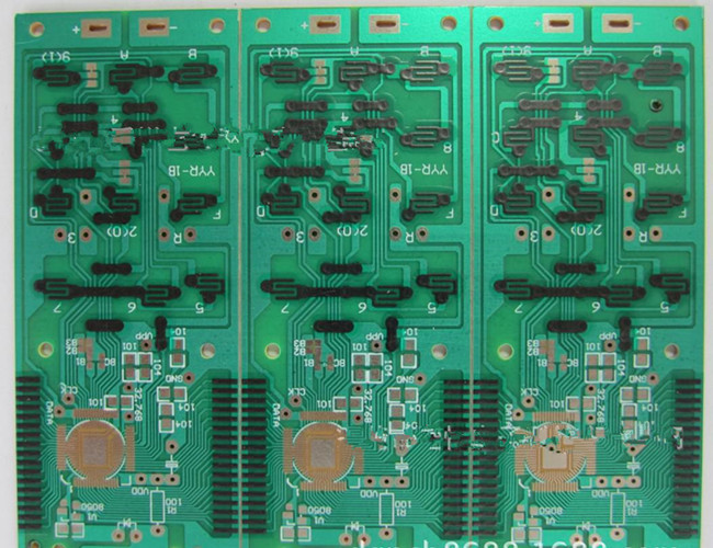 4 Layers 1.6mm Thicnkness Carbon Ink Print Finger PCB Copy