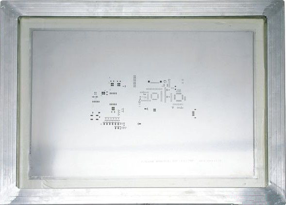 PCB Reverse Welding Technology stencil, Sn paste, Components selection